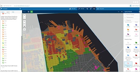 Improve your process by designing and creating scenarios from your data using ArcGIS GeoPlanner