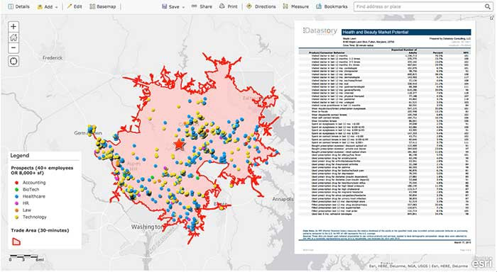 Datastory Consulting uses the Esri platform to deliver information to clients on any platform, anywhere.