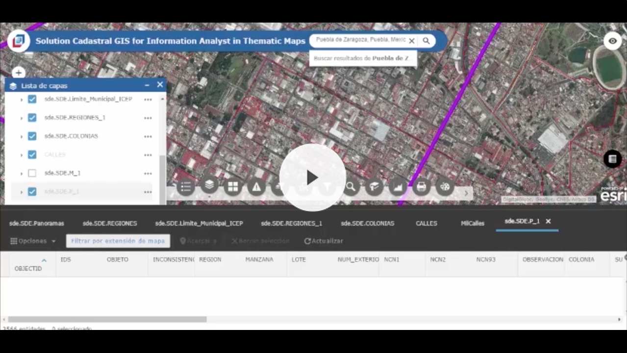 Ver Video Cadastral Information Analyst